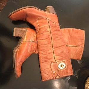 Coach women's leather boots 9 1/2